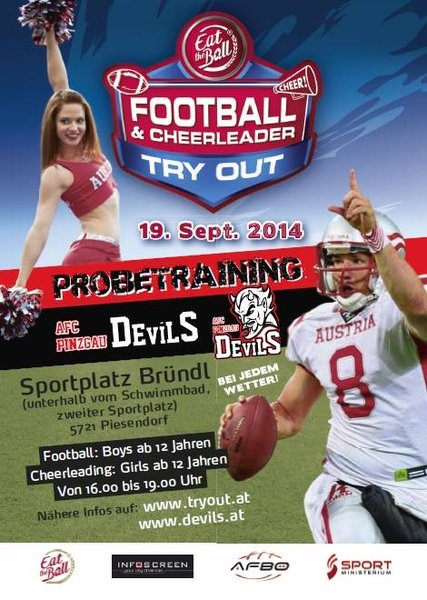 Try Out American Football – come and be part of the Devils